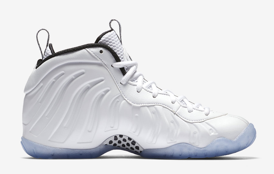 Air Foamposite One White Ice