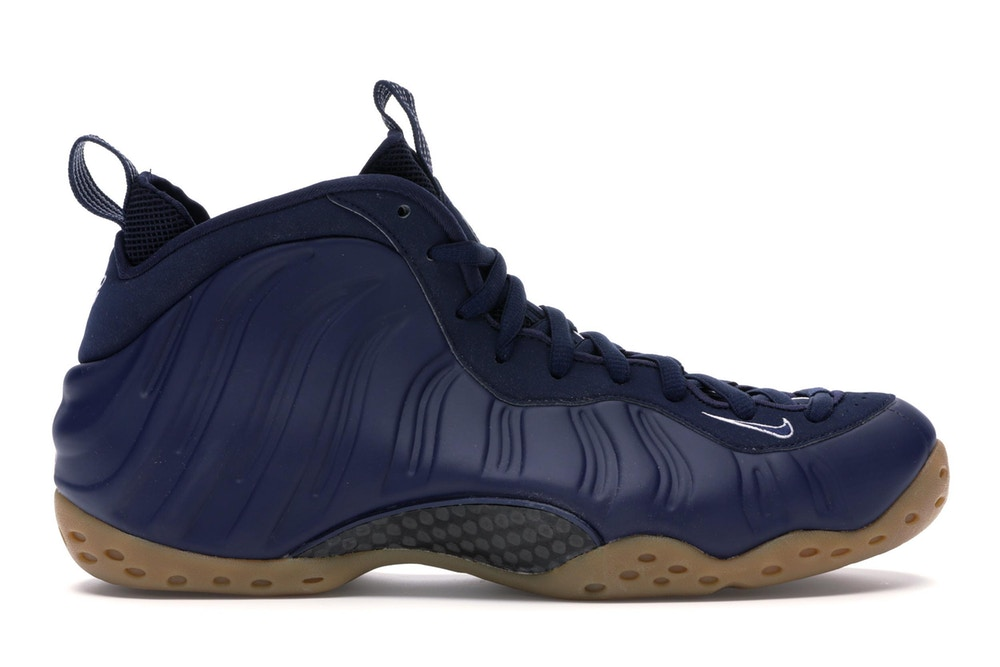 Air Foamposite One Navy Gum