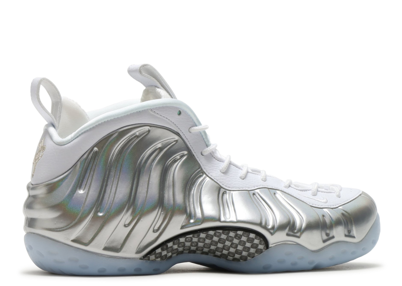 Air Foamposite One Chrome Silver