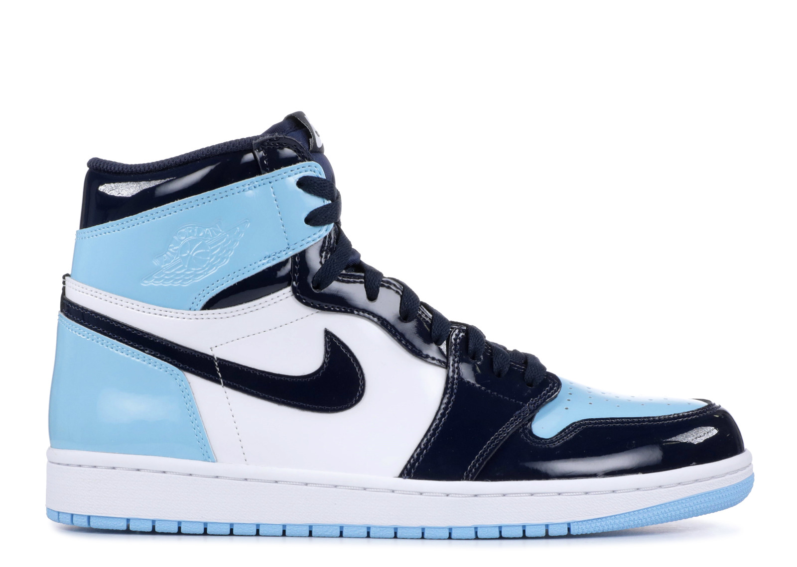 Air Jordan 1 Retro High OG Obsidian/Blue Chill-White