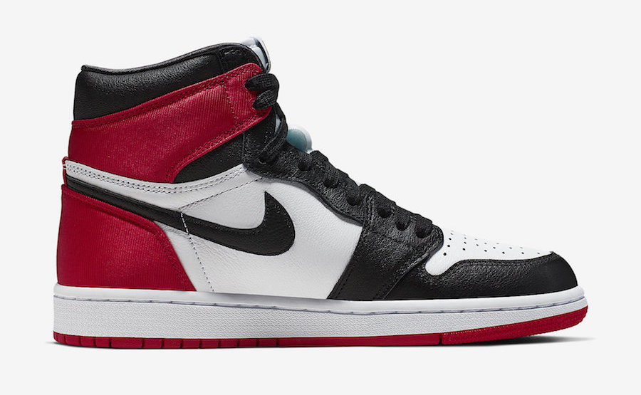Air Jordan 1 Satin Black Toe (Women)