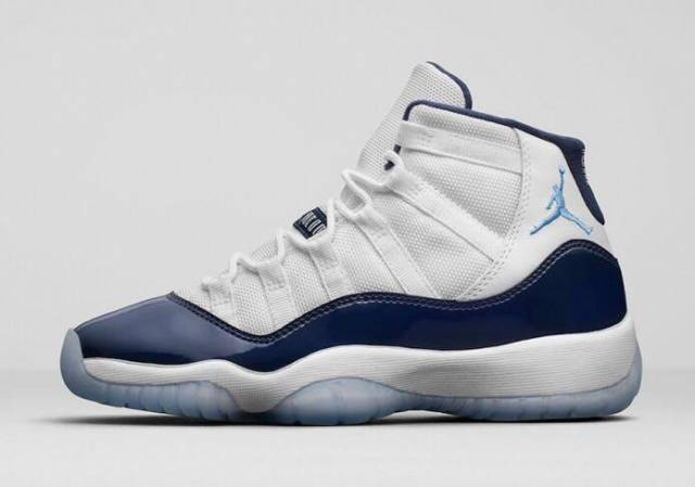 Air Jordan 11 Retro Midnight Navy Win Like 82 Grade School 2017