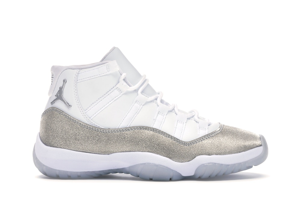 Air Jordan 11 Retro White Metallic Silver (Women)
