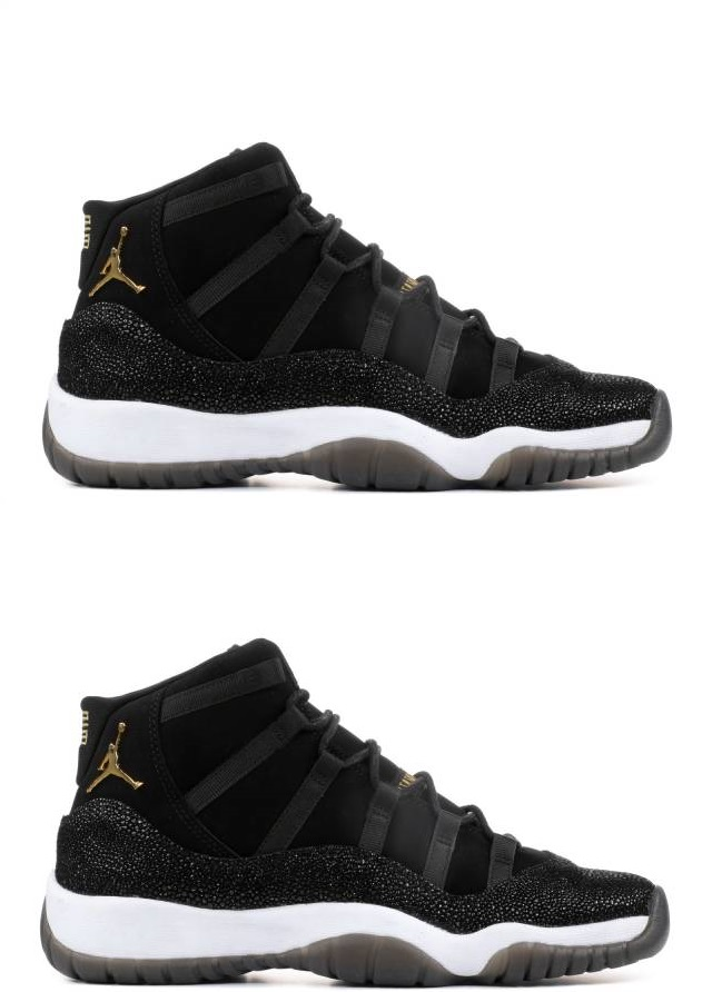 Air Jordan 11 His & Her PRM Heiress Black Stingray Pack #1