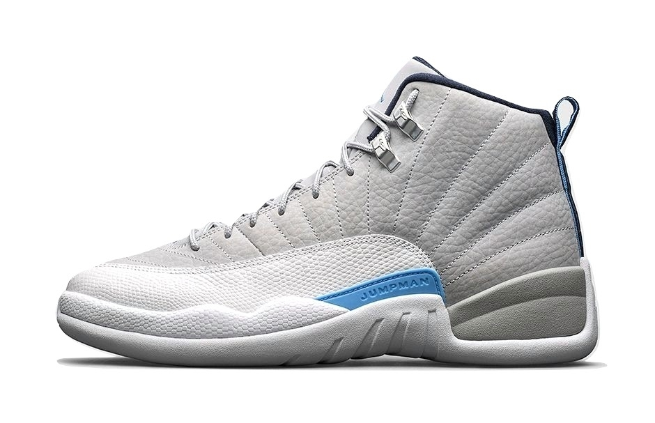 Air Jordan 12 Grey/University Blue