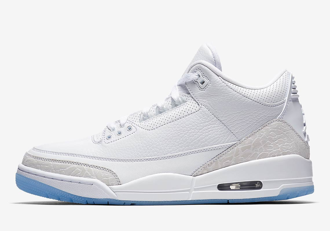 Air Jordan 3 Pure White