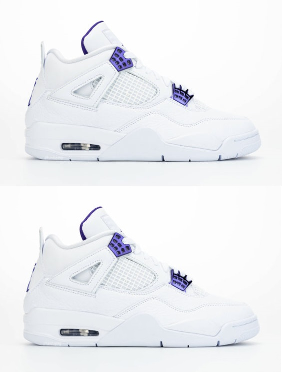 Air Jordan 4 His & Her Court Purple Pack #1