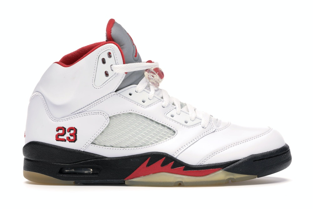 Air Jordan 5 Retro Fire Red CDP 2008