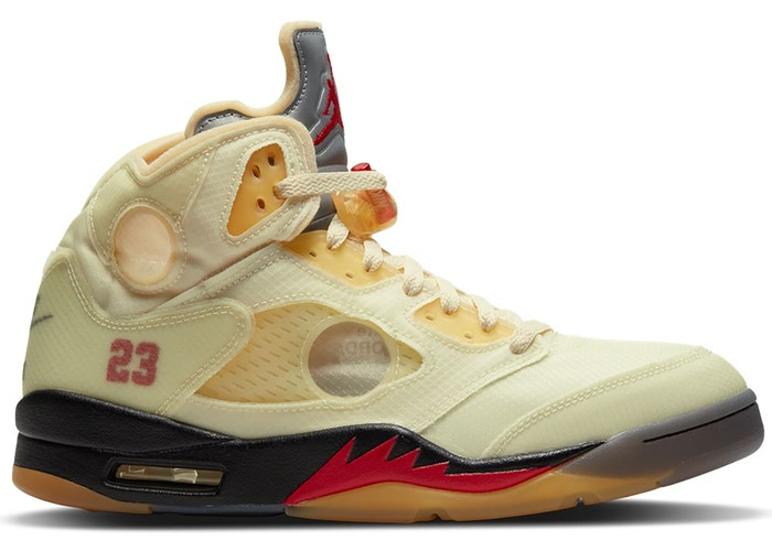 Air Jordan 5 Retro OFF-WHITE Sail