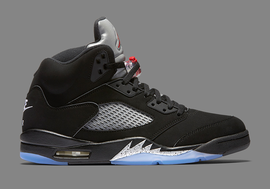 Air Jordan 5 OG Black Metallic