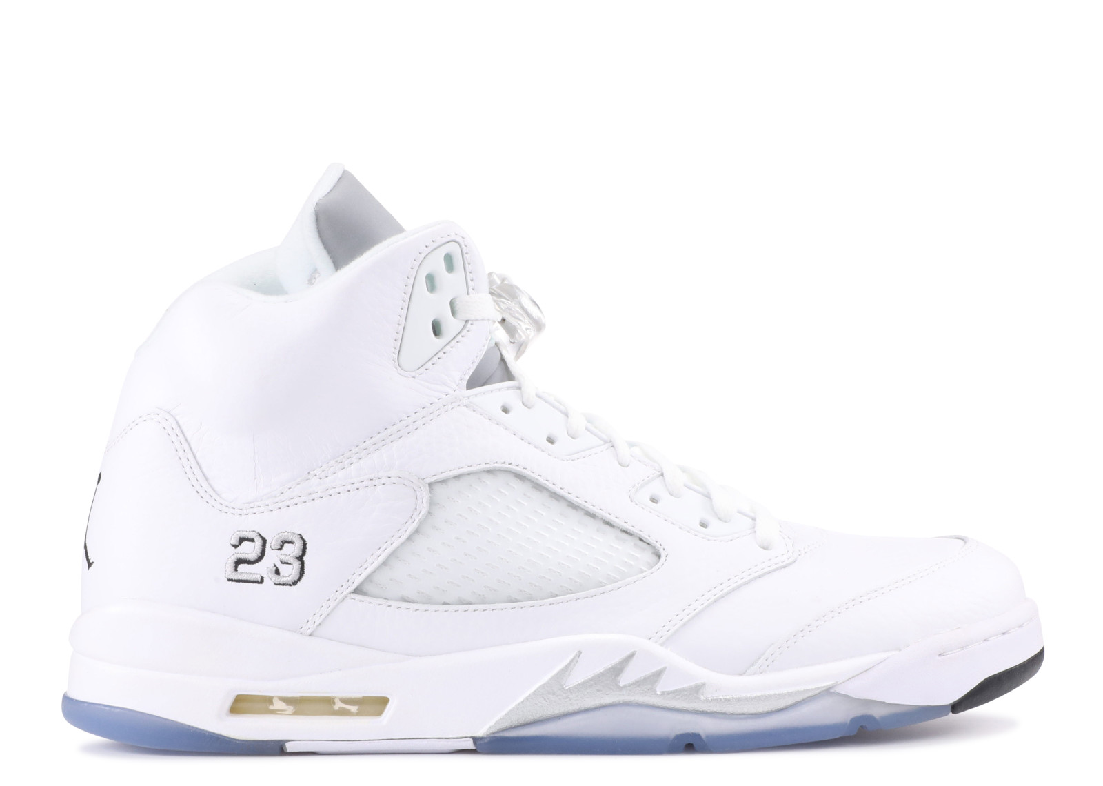 Air Jordan 5 Metallic Silver 2015 Release