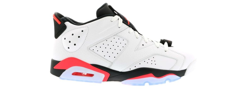 Air Jordan 6 Retro Low Infrared White