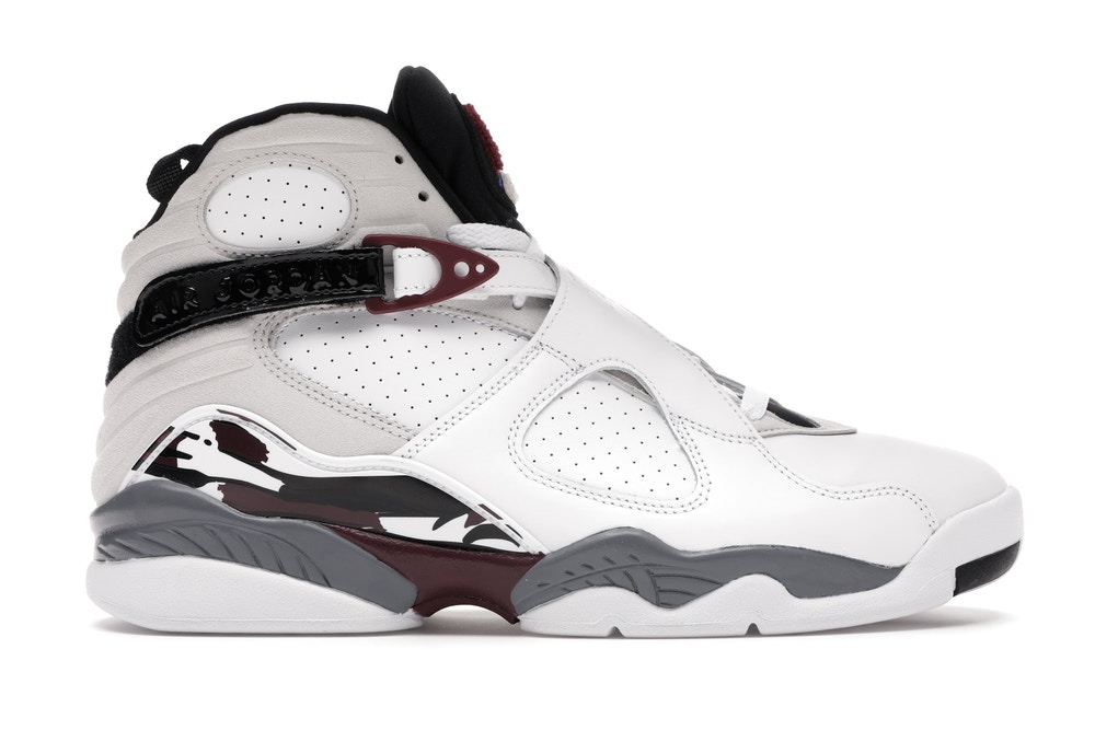 Air Jordan 8 Retro White Burgundy