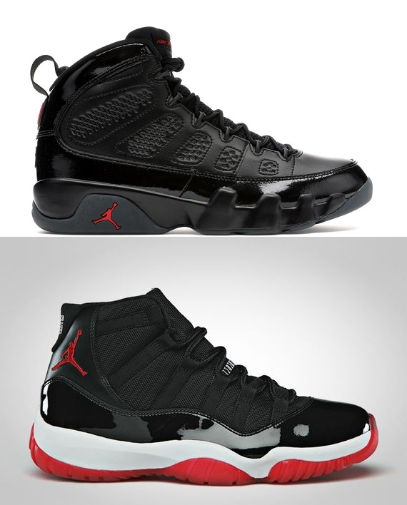 Air Jordan 9 & 11 Bred Pack #1